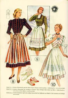 Lutterloh Dirndl Supplement 1950's pg. 6