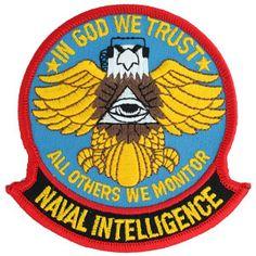 NAVAL INTELLIGENCE patch