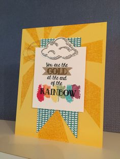 Over the Rainbow stamp set from Stampin Up!