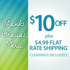 We LOVE our customers! Today, get $10 OFF + $4.99 FLAT SHIPPING.  Use code: PN10FLAT