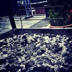 Noch ist die Kohle kalt... Die Vorfreude steigt! #bbq #grillen #Sommer #sonne #sun #barbecue #summer #family
