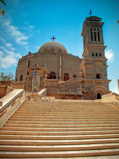 Church of Mar Girgis (St. Jordan Travel, Egypt Travel, Wall Papers, Place Of Worship, Religious Art, Vintage Movies, Building Materials, Cairo, Travel Posters