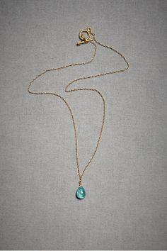 teardrop-best necklace shape.