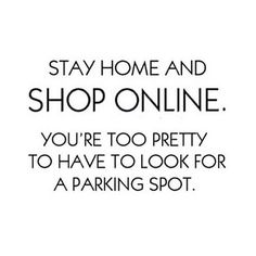 Shop at Home and Shop in your PJ's
