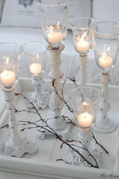 Beautiful Candle decoration.