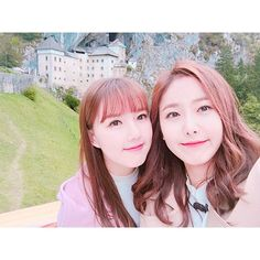 Yerin and SinB ~ When will I ever be as pretty as them Extended Play, South Korean Girls, Korean Girl Groups, Lee Hi, Gfriend Yuju, Yoseob, Ginger Girls, Fan Picture, Fandom