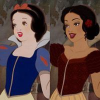 An Artist Reimagined Disney Princesses With Different Races and the Results Will Blow Your Mind I really like this