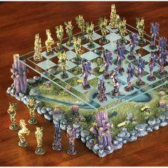 Fairy Chess Set Mythical Fantasy 38989 | eBay