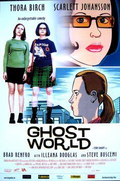 GHOST WORLD de Terry Zwigoff  USA-Allemagne, 2001, 1h55, VOSTF Avec Thora Birch, Scarlett Johansson, Steve Buscemi