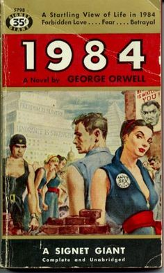 Read Aldous Huxley's review of 1984 he sent to George Orwell