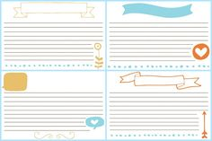 Planning Meals with Martin's {and free recipe card printables}! | One Artsy Mama