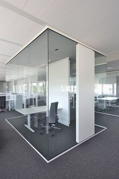 Hearsay, Lies and Office Interior Design Corporate Glass Partition - Home De. Industrial Office Design, Office Space Design, Modern Office Design, Office Interior Design, Glass Partition Wall, Partition Design, Corporate Interiors, Office Interiors, Corporate Design