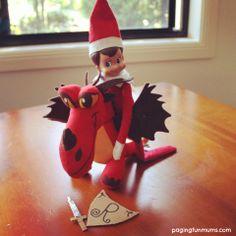 Elf on the Shelf – Resident Dragon Trainer