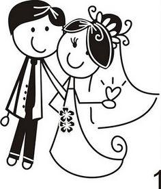 Жених и невеста рисунок карандашом прикольные, черный
