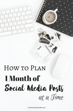 How to Plan 1 Month of Social Media Posts at a Time Marketing Logo, Plan Marketing, Social Media Marketing Business, Marketing Quotes, Facebook Marketing, Marketing Digital, Content Marketing, Online Marketing, Online Business