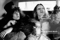 Marc Bolan with wife June Child