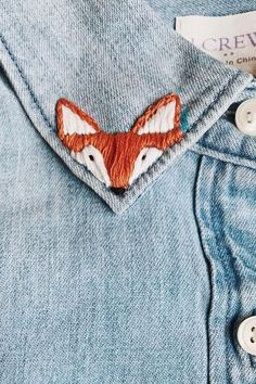 Hand Embroidery Stitches, Embroidery Patches, Embroidery Art, Cross Stitch Embroidery, Machine Embroidery, Knitting Stitches, Hand Stitching, Embroidery On Jeans, Start Knitting