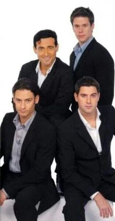 Il Divo - Carlos, David, Urs, Sebastian.   There music is wonderful, but I absolutely love David's voice..you can hear his voice soar above the others.
