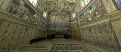The Sistine Chapel (Latin: Sacellum Sixtinum ; Italian: Cappella Sistina ) is a large and renowned chapel of the Apostolic Palace , the off. Virtual Museum Tours, Virtual Tour, Miguel Angel, Art Ninja, Apostolic Palace, Voyage Rome, Virtual Field Trips, Sistine Chapel, World Geography