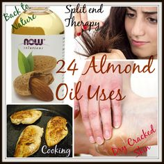 24 Sweet Almond Oil Uses - Sweet Almond Oil is pale yellow in color and it's… Coconut Oil For Teeth, Coconut Oil Pulling, Benefits Of Coconut Oil, Oil Benefits, Almond Oil Uses, Sweet Almond Oil, Oil Pulling Teeth, Oils For Dogs, Face Scrub Homemade