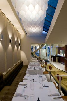 Rockpool  Sydney.... This Neil Perry restaurant is one of my favourite!