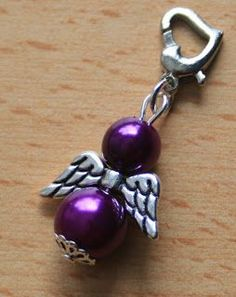 binimey: Make angels yourself - Earring Diy Jewelry, Beaded Jewelry, Handmade Jewelry, Jewelry Design, Jewelry Making, Jewellery, Beaded Angels, Angel Crafts, Diy Crafts Hacks