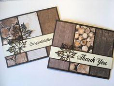Wood Textures Designer Paper; Seasonal Layers Thinlits