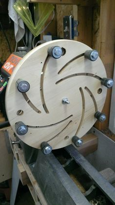 Massive Chuck for a lathe woodlathehomemadediy is part of Wood turning projects -