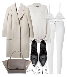 """Untitled #19482"" by florencia95 ❤ liked on Polyvore featuring Paige Denim, The Row, Zara, Boutique, Curriculum Vitae, Monica Vinader, women's clothing, women's fashion, women and female"
