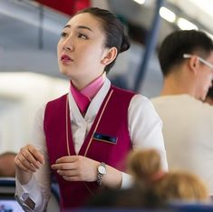 【China】 China Southern Airlines cabin crew / 中国南方航空 客室乗務員 【中国】 China Southern Airlines, Airline Cabin Crew, Come Fly With Me, Gorgeous Women, Beautiful, Flight Attendant, Nikon D800, Candid, Like4like