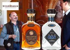 """""""Irgendwo muss er ja hin, der Scheiss"""": Martin Steinhauser über Brigantia Whisky und See Gin."""