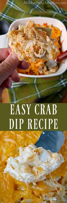 Packed full of crab, cheese, and a kick of flavor, this Easy Crap Dip Recipe is a life saver! Any leftovers can easily be re-purposed into a sandwich, crostinis, or filling for mushrooms. #GetWellMichelle