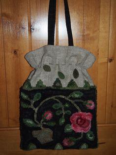 Karen Kahle design  Hooked by Leslie Cervenka