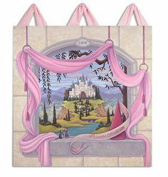 Fairytale Dreams Canvas Wall Hanging