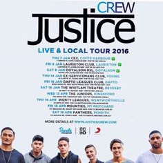 Instagram photo by justicecrewofficial - 3 shows done. Next up Young,NSW this Thursday.  For info on ticket sales check our website www.justicecrew.com  See you soon  #justicecrew #liveandlocaltour Justice Crew, Ticket Sales, Local Tour, Thursday, Website, Check, Instagram