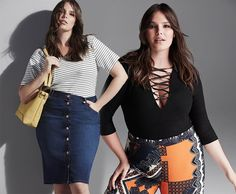 See The First River Island Plus Size Collection for Spring 2016