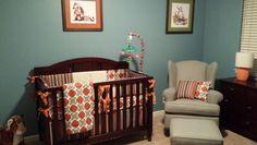 Calvin and Hobbes themed nursery