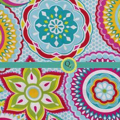 Designer Fabric By the Yard Blue fabric with by QuiltingGarden, $7.75