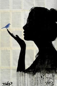Harmony Art Print by Loui Jover at Art.com
