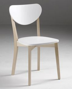 JADE-tuoli valkoinen/koivu lv