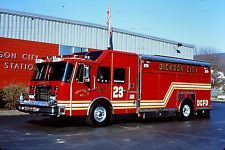 ◆Dickson City, PA FD Rescue 23 ~ 1999 Emergency One Saulsbury Heavy Rescue Squad◆