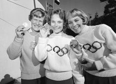 Looking Back: Photos From the First 12 Winter Olympics - In Focus - The Atlantic Winter Olympic Games, Winter Games, Winter Olympics, Olympic Hockey, Olympic Flame, Fred Perry, Womens Figure Skates, Women Figure, Ladies Figure