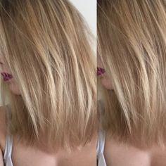Ombré Hair colour & a Long Bob or Lob.