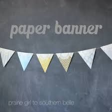 paper banner crafts - Google Search
