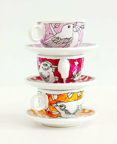 Louche Lab: Artist Teacups and Plates