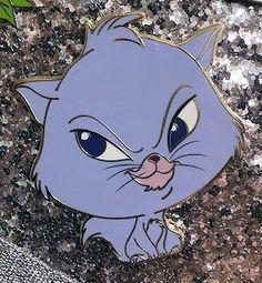 Disney D23 2017 Expo WDI Cat Portrait Great Mouse Detective Felicia Pin LE300