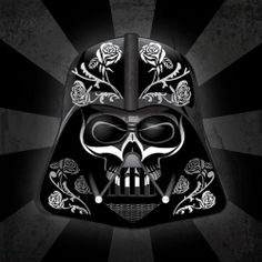 Celebrating the Mexican Day of the Dead holiday, graphic designer John Karpinsky presents his Star Wars DOTD series.