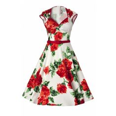 Pinup Couture Pinup Couture TopVintage exclusive Heidi dresses vintage... ❤ liked on Polyvore