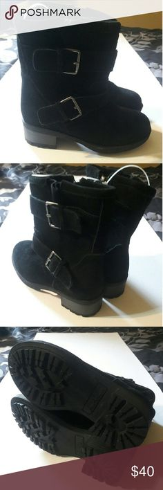 Nwot Sam Edelman  buckle boots Nwot No box , still attached together 2 buckles on outer part of boots Sam Edelman Shoes Boots
