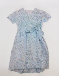 """Vintage Blue Lace Cocktail Dress with pink slip $85 AUD. All enquiries please contact nina@snowy.net.au or https://www.facebook.com/NinasVintageClothing Approximate size: Bust 40"""" Waist 30"""" Hips 42"""""""